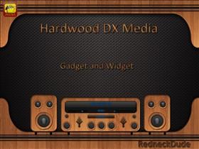 Hardwood Media Gadget and Widget