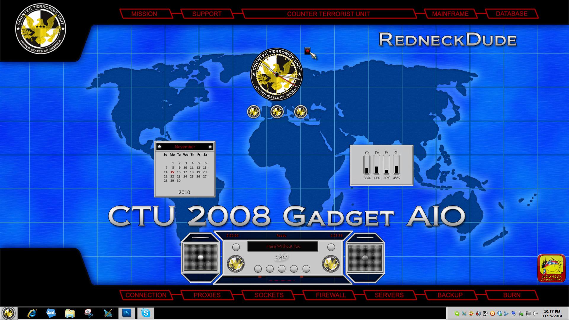 CTU 2008 Gadget AIO