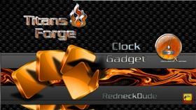 Titan's Forge Clock Gadget