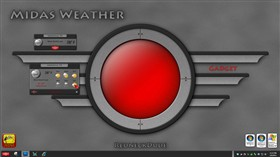 Midas Weather Gadget