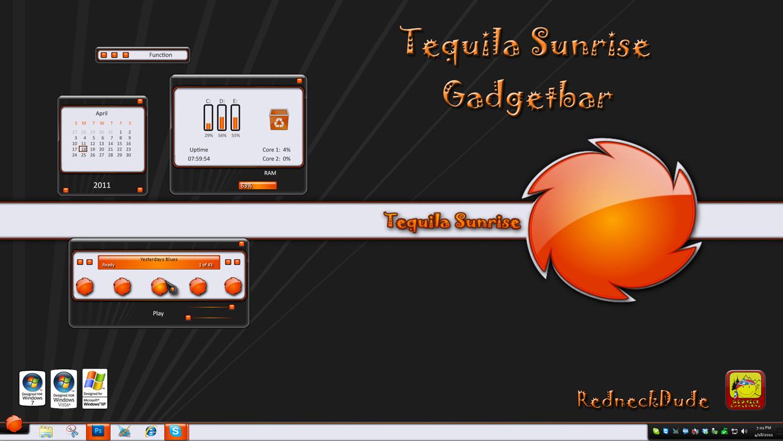 Tequila Sunrise Gadgetbar