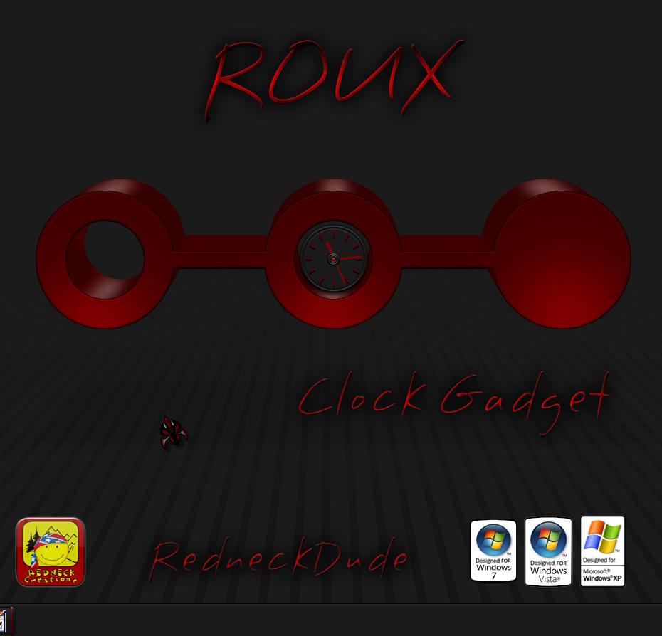 Roux Clock Gadget