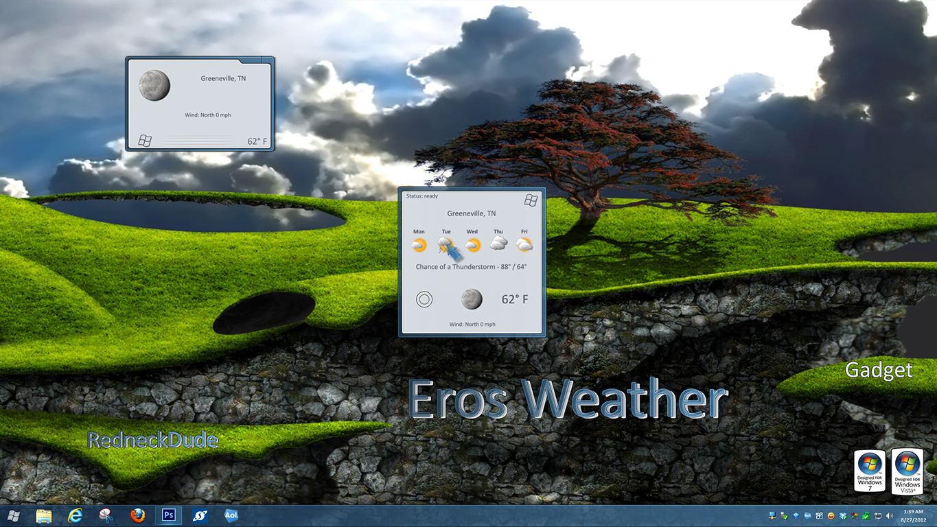 Eros Weather Gadget 