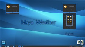 Maya Weather Gadget