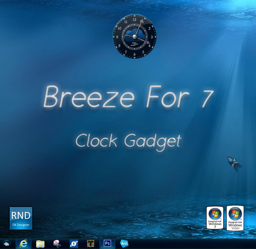 Breeze For 7 Clock Gadget