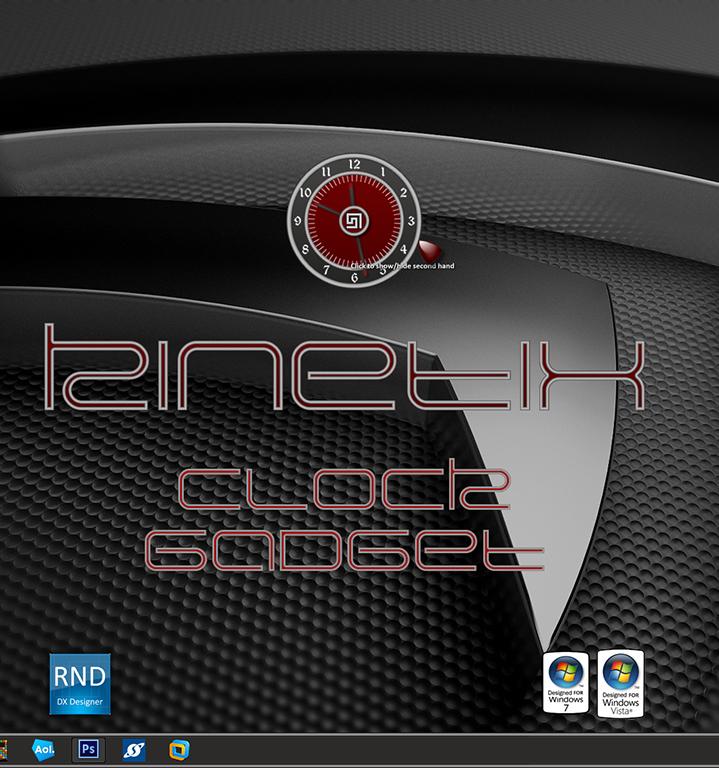Kinetix Clock Gadget