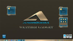 Andromeda Weather Gadget 2014