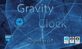 Gravity Clock Gadget