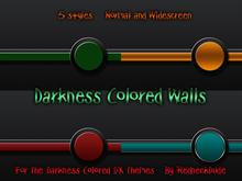 Darkness Colored Wallpack