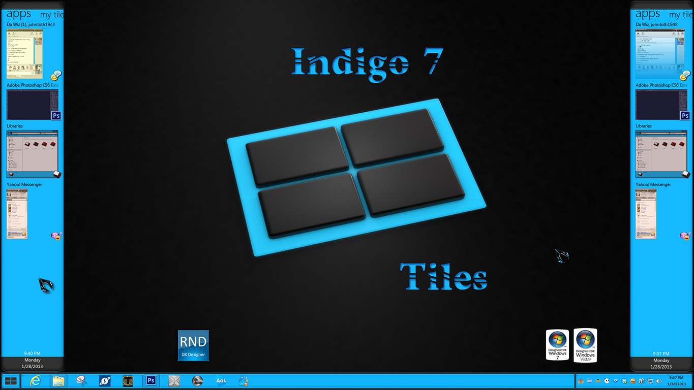 Indigo7 Tiles