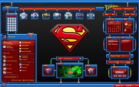 Superman Dashboard Remix