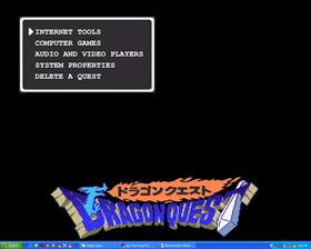 Dragon Quest Menu