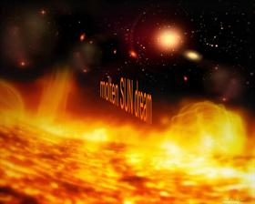 Molten Sun Flares Dream
