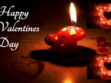 Valentine Candles 2pack