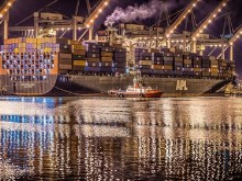 Container Ship HDR