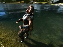 Skyrim Lady Warrior