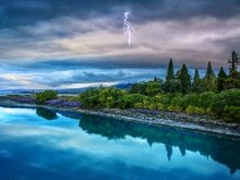 Lake Tekapo Storm