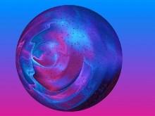 Abstract Rain Ball