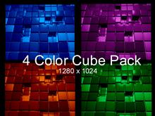 4 Color Cube Pack