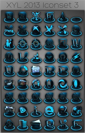XYL 2013 iconset 3