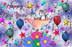 Mousy New Year&#39;s Party
