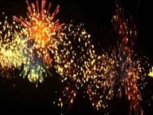 close up fireworks