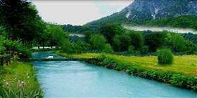 Berchtesgaden River Ache