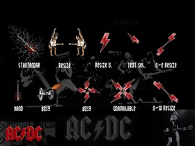 acdc cursor
