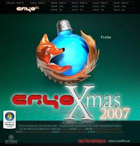 Cryo Christmas - Firefox