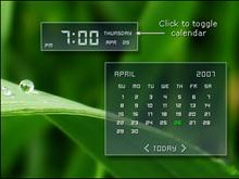 Vista outlook time/calendar