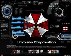 My Umbrella Corporation Desktop