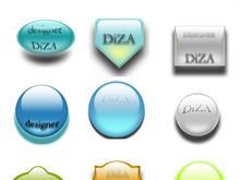 DiZA icons