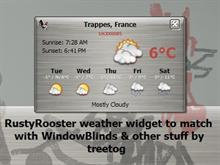 RustyRooster Weather Widget