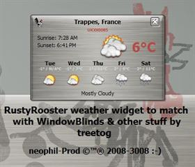RustyRooster Weather Widget