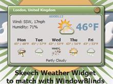 Skeech Weather Widget