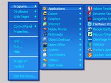 Blue RightClick Menu
