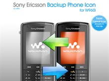 w960i Sony Ericsson Backup Phone Icon