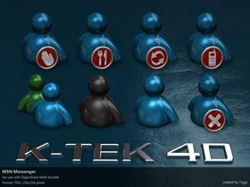 K-TEK 4D MSN Messenger