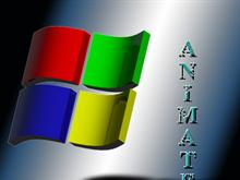 Animated Windows flag logo