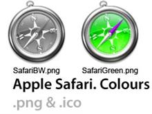Apple Safari Colours