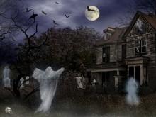 Halloween Haunted Mortuary LV