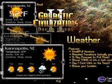 GalCiv II Weather