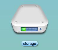 hard drive meter