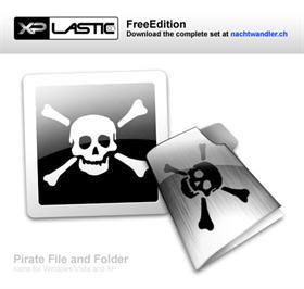 XPlastic07 Pirate File and Folder