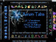 Xenon Tabs Black