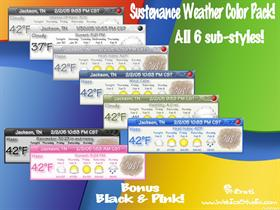 Sustenance Weather Color Pack
