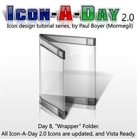 Icon-A-Day 2.0, Day 8, Wrapper Folder