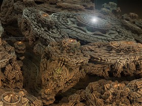 ALIENARCHITECTURE 3D IV by love1008