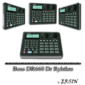 Boss DR660 Dr Rhythm Icons
