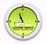 LizZarD-WareZ Clock